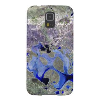Lago Carnegie Landsat 7 Funda De Galaxy S5