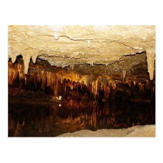 Lago cavern tarjeta postal