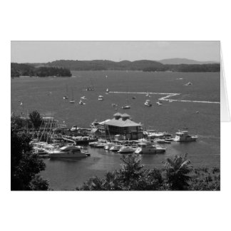 Lago Champlain, Burlington, Vt. Costa Tarjeta De Felicitación