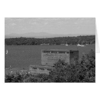 Lago Champlain, Burlington, Vt. Warehouse Tarjeta De Felicitación