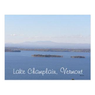 Lago Champlain, Vermont Postal