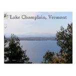 Lago Champlain, Vermont Postales