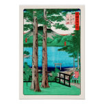 lago Chuzenji del 歌川広重, Utagawa Hiroshige Poster