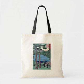 Lago Chuzenji por Utagawa, Hiroshige Bolsa Tela Barata