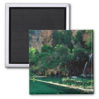 Lago colgante, Colorado Imán Cuadrado