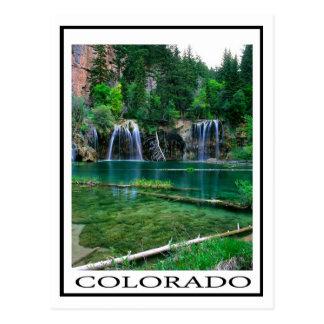Lago colgante, Colorado Postales