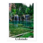 lago colgante, Colorado Tarjetas Postales