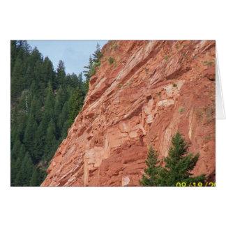 Lago Colorado Ruedi de los artículos del regalo Tarjeta De Felicitación