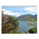 Lago Como, calendario 2013 de Italia