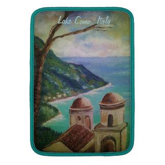 Lago Como, Italia, manga de aire de Mackbook Fundas Macbook Air