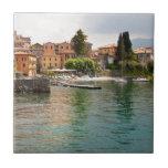 Lago Como Milano Azulejo Cuadrado Pequeño