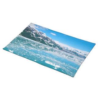 Lago congelado Alaska Mantel Individual