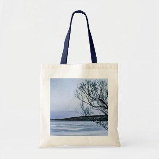 Lago congelado bolsas de mano
