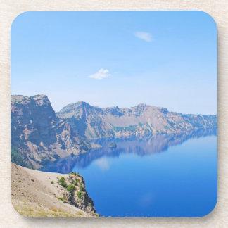 Lago crater del panorama posavaso
