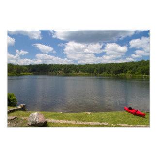 Lago crater - NJ escénico Fotografias