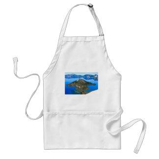 Lago crater, Oregon Delantal