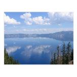 Lago crater, Oregon Tarjeta Postal