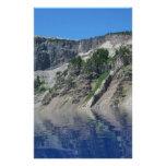 Lago crater papelería personalizada