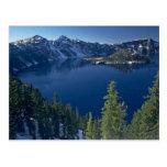 Lago crater postal
