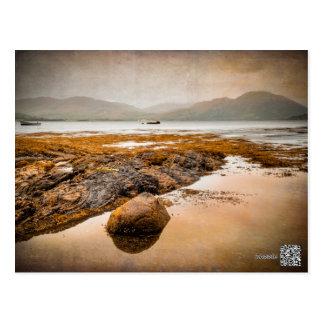 Lago Creran en Escocia Postal