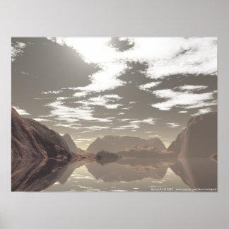 Lago cristalino posters