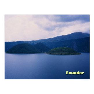 Lago Cuicocha Postcard