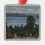 Lago de cabeza llana, Montana Adorno De Navidad