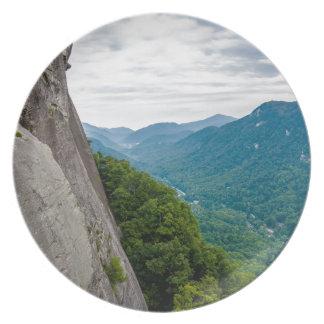 lago de Carolina del Norte de la roca de la Platos De Comidas