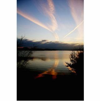 Lago de la escultura de la foto de Ozarks Esculturas Fotograficas