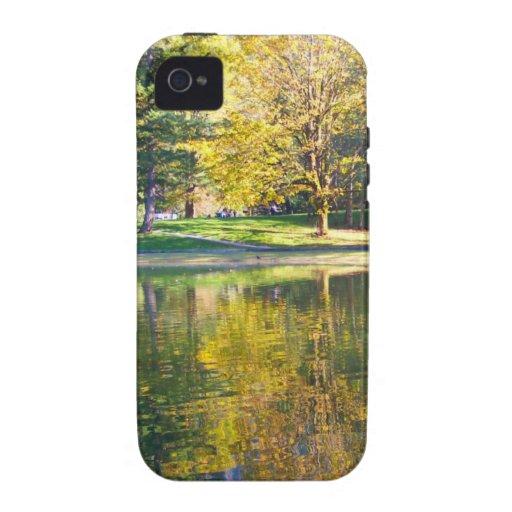 Lago de plata iPhone 4/4S funda