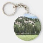 Lago de plata llaveros personalizados