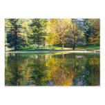 Lago de plata tarjetas personales