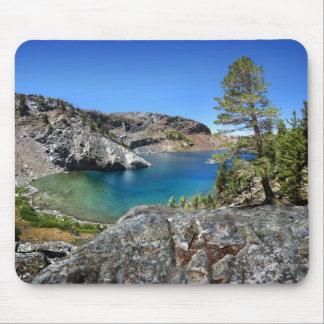 Lago de rubíes - rastro de John Muir - Sierra Tapete De Ratón
