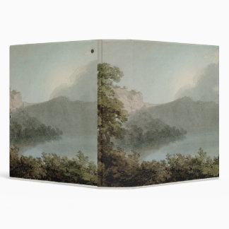 """Lago de Vico entre Roma y Florencia, 1783 (grap Carpeta 1 1/2"""""""