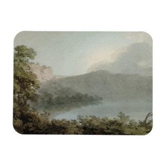 Lago de Vico entre Roma y Florencia, 1783 (grap Imán De Vinilo