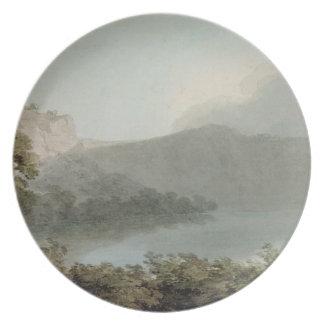 Lago de Vico entre Roma y Florencia, 1783 (grap Platos