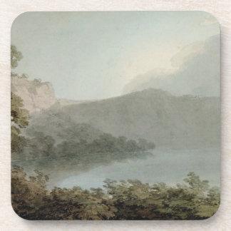 Lago de Vico entre Roma y Florencia, 1783 (grap Posavasos