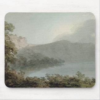 Lago de Vico entre Roma y Florencia, 1783 (grap Tapetes De Raton