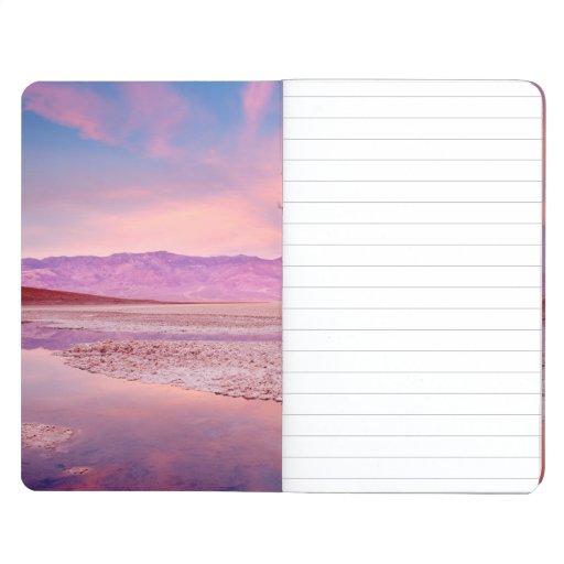 Lago Death Valley water Cuaderno