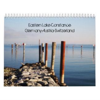 Lago del este Contance - Östlicher Bodensee Calendarios