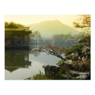 lago del oeste, China Tarjetas Postales