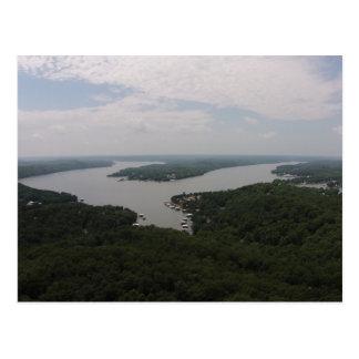 Lago del Ozarks Tarjeta Postal
