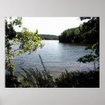 Lago del parque de estado de Ozarks Impresiones