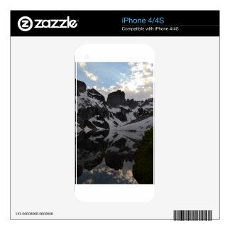 Lago del parque nacional magnífico de Teton de la Skins Para eliPhone 4S