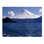 Lago del volcán de Osorno y Todo Los Santos, Chile Tarjetas Postales