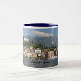 lago di como (Lake Como) Two-Tone Coffee Mug