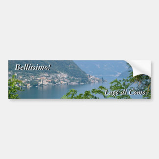 Lago di Como Sticker Car Bumper Sticker