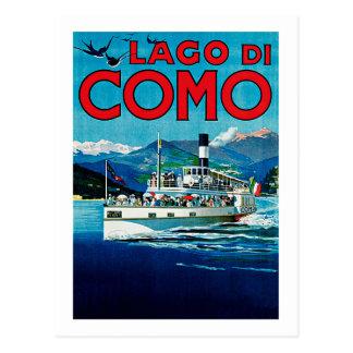 Lago di Como Tarjetas Postales