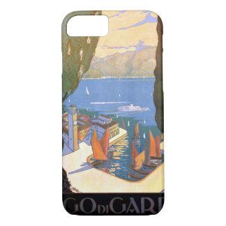 Lago di Garda Lake Garda Vintage Poster Restored iPhone 8/7 Case