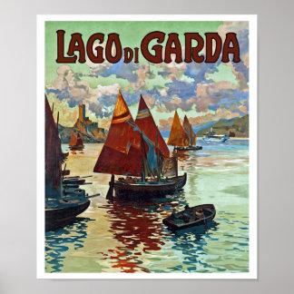 Lago di Garda Poster